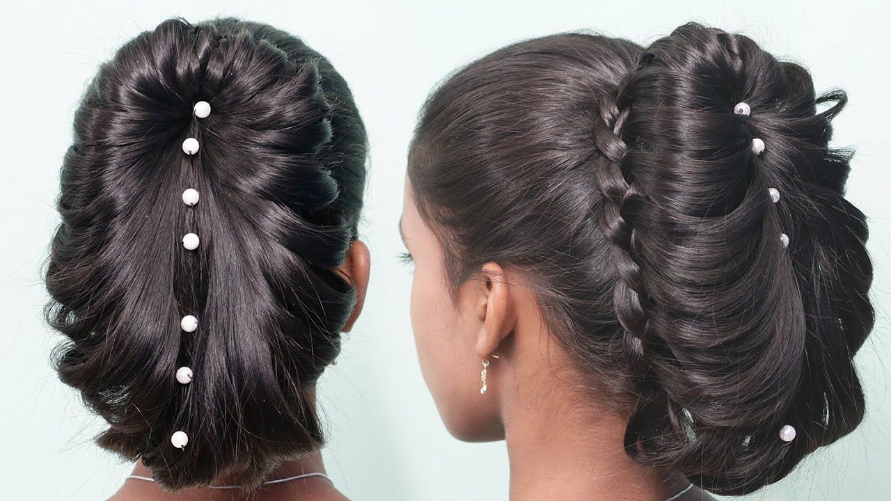 Most Beautiful hairstyles for long hair party/Wedding  New