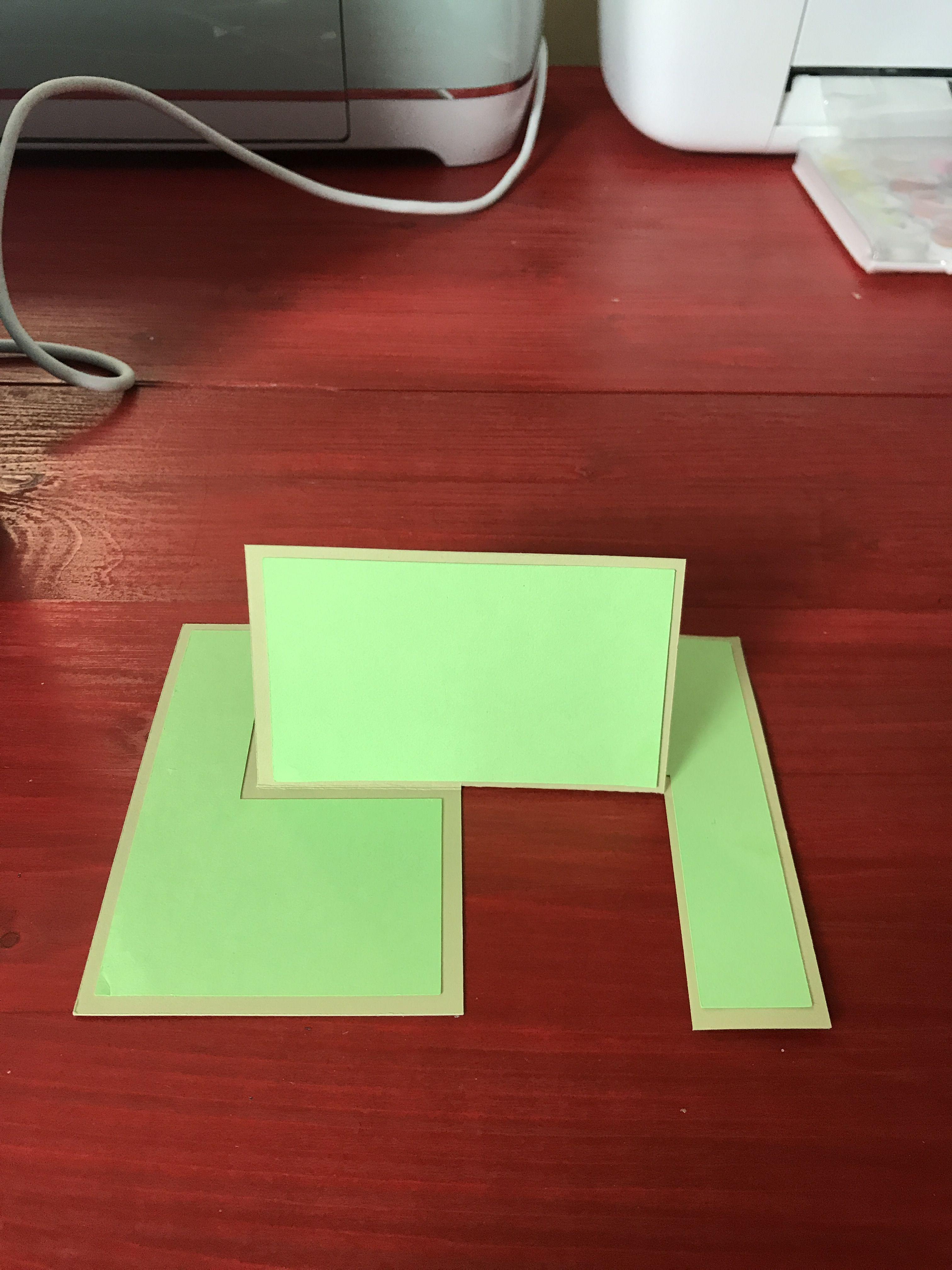 Cricut Design Space File To Create An Impossible Card Cricut Design Cards Cricut