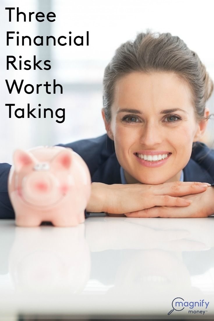 You may be more of a financial risk taker than you think. I know I am. I majored in theatre and spent the first five years of my professional career pursuing a life of full-time performing. I followed that risk with another- starting my own business- followed by my most recent risk of reinvesting in myself for a greater career payoff - and I've learned that there are financial risks worth taking…