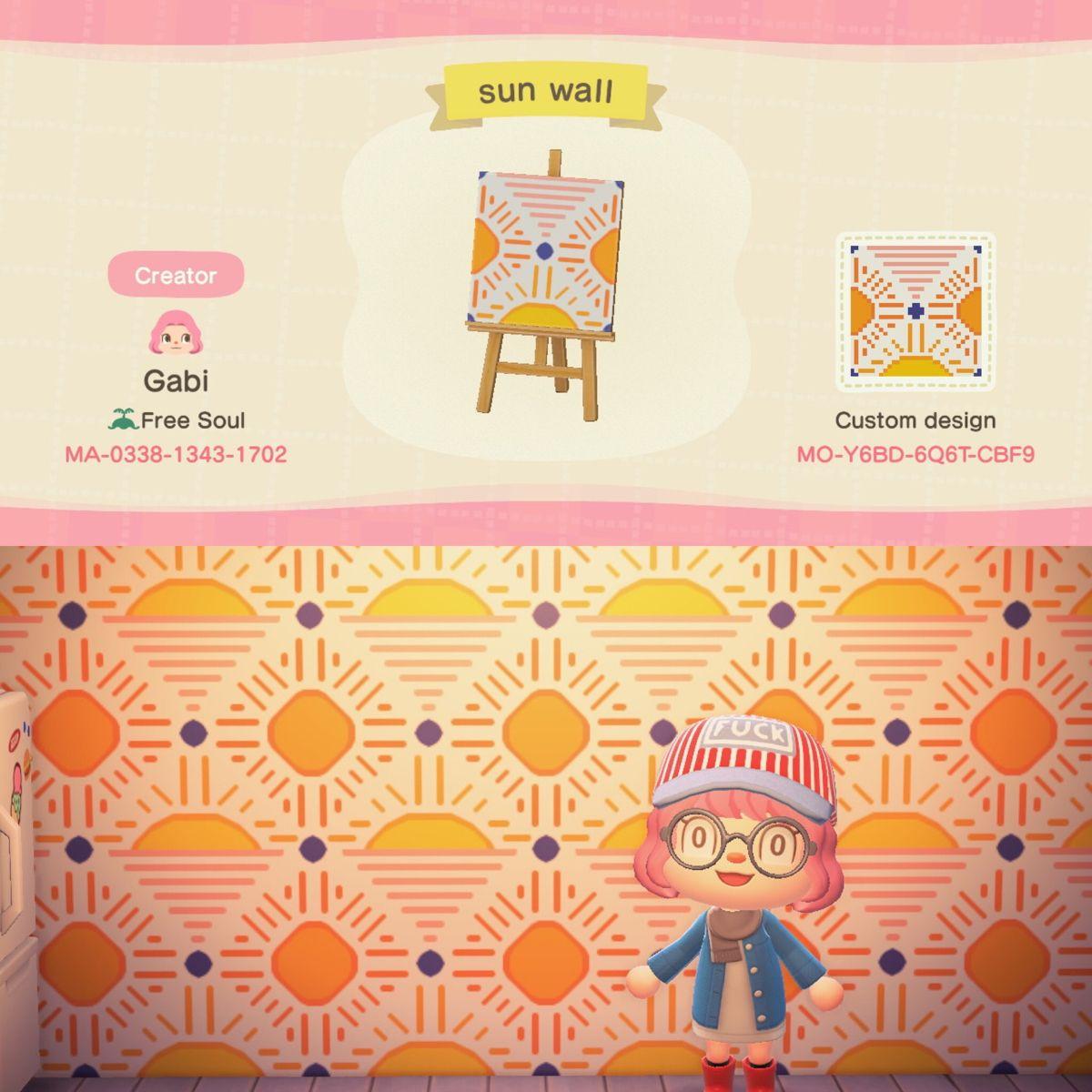 Sun Wallpaper Animal Crossing Desgins Animal Crossing Qr Animal Crossing Animal Crossing Game