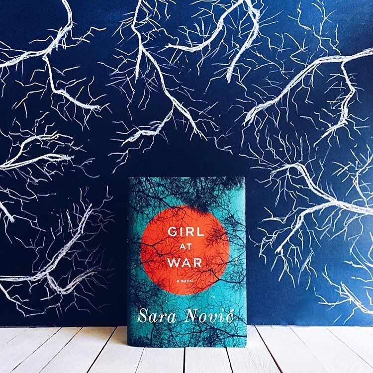 We love our book jacket art ❤️ For more bookish art visit our Pinterest board by tapping the link in our profile 🖌🎨 Photo by @theliteraryllama #bookstagram #igreads #bookart #pinterest #randomhouse #regram