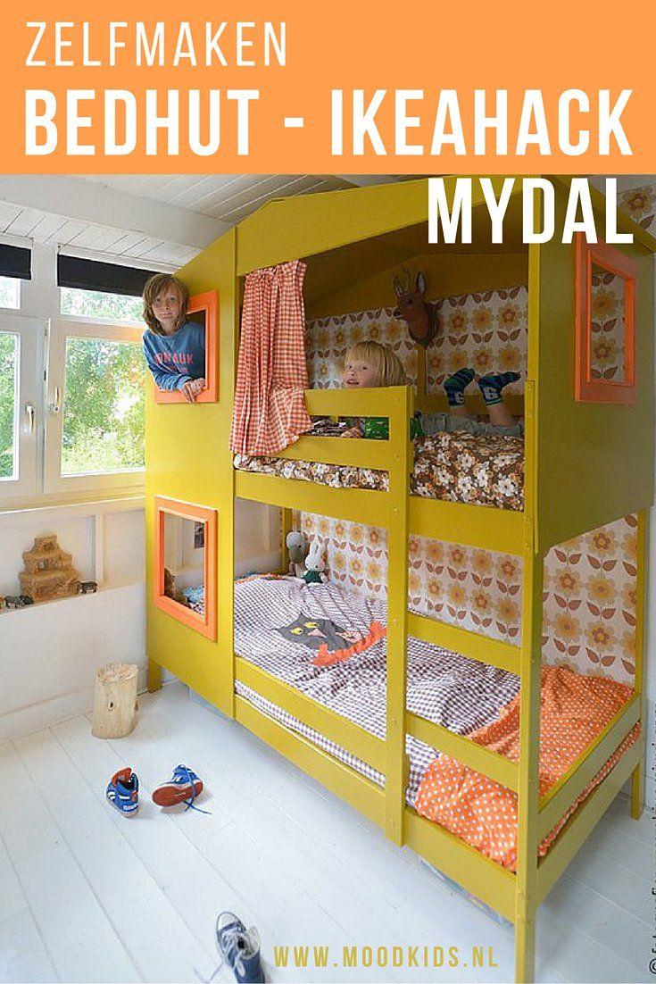 Ikea hack mydal bed - werkbeschrijving - how to make it | Pinterest