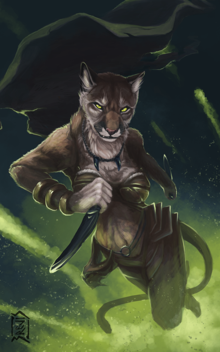 Commission Puma By Brevis Art On Deviantart Has Wares If You