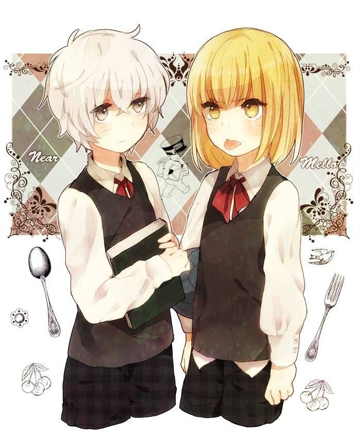 Near and Mello. They both look so cute!