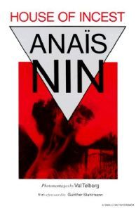 Anaïs Nin: House of Incest (8,30€)