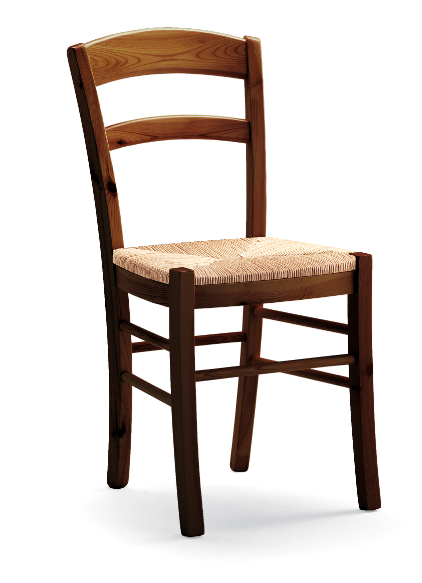Sedie Impagliate Moderne.Sedia Modello Paesana Con Struttura In Pino E Seduta