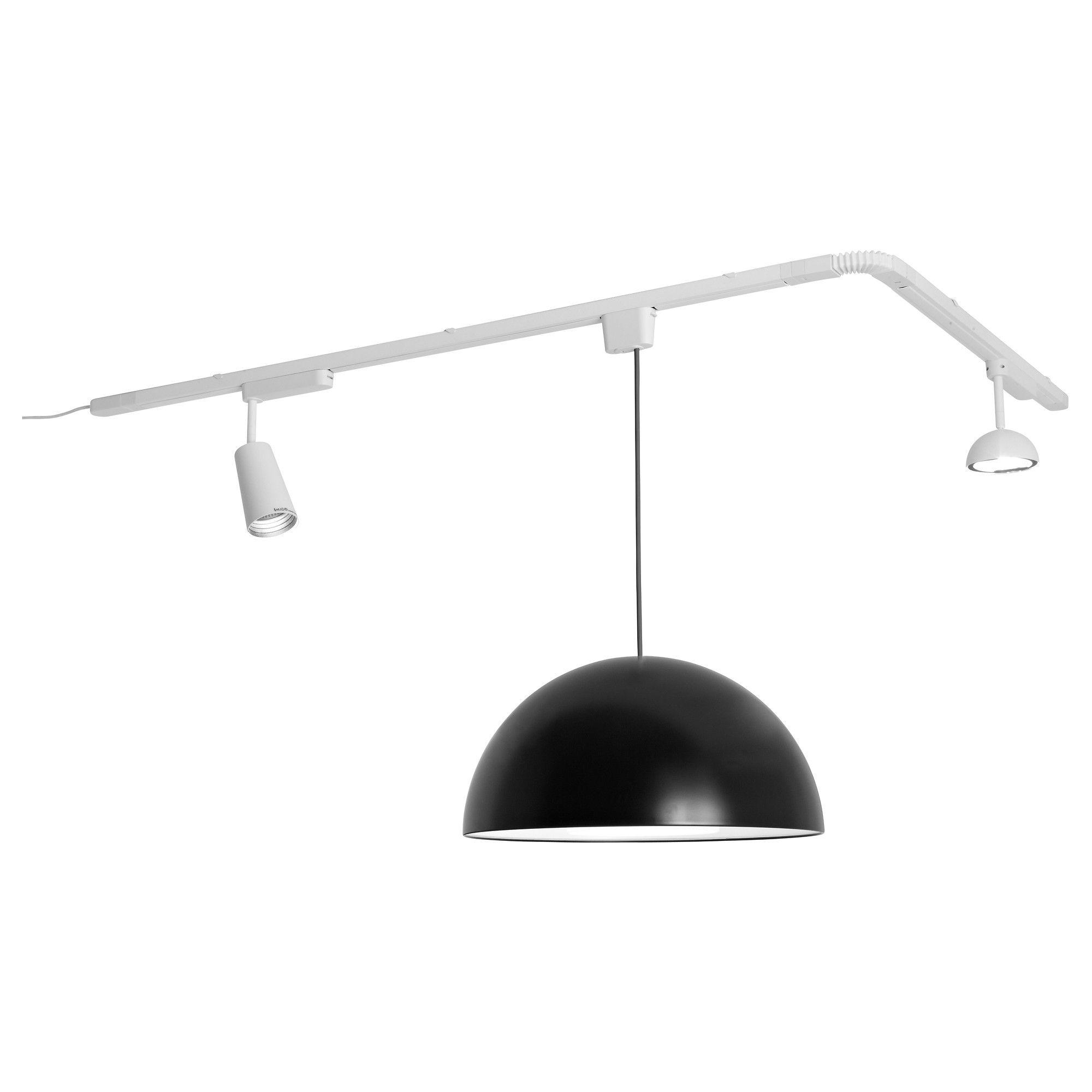 Floor Track Lighting: ALÄNG Floor Lamp, Nickel Plated, Gray