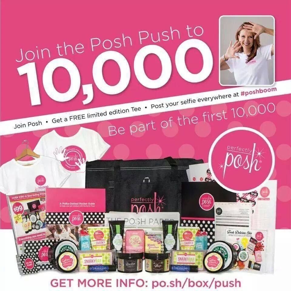 Ground floor opportunity! Be one of the first 10000 consultants! Join my team. Made in the US! Great pampering products! www.perfectlyposh.com/wendycampbell