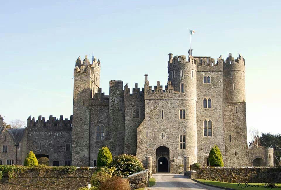 Kilkea Castle Co Kildare Ireland Pinterest