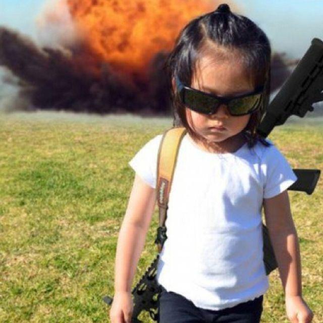 This kid is pretty BA