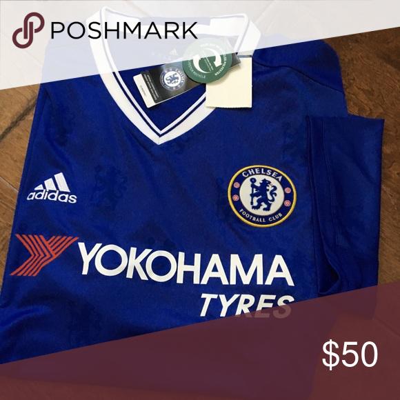 detailed look 35423 add72 Adidas Chelsea Football Club Yokohama Tyres Shirt Brand new ...
