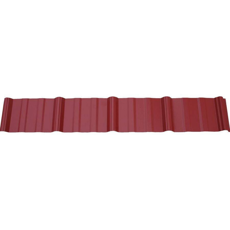 Union Corrugating 3 17 Ft X 12 Ft Ribbed Steel Roof Panel Steel Roof Panels Roof Panels Metal Roof Panels