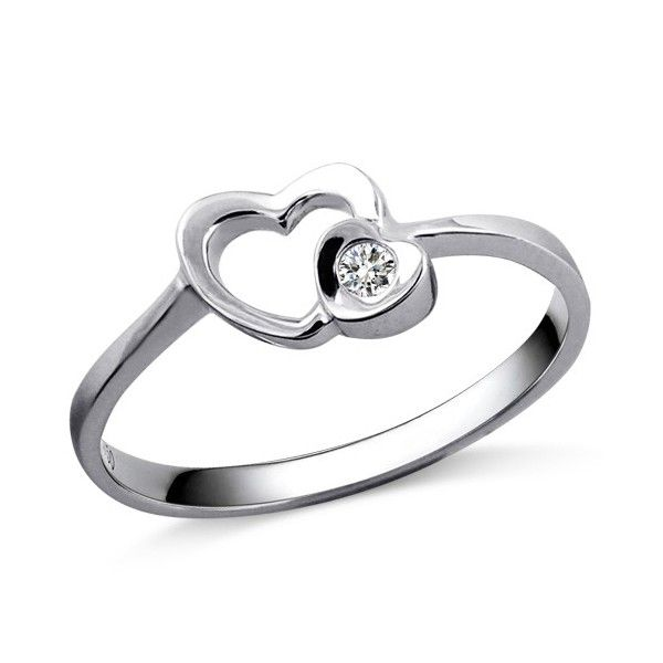 Heart Rings For Girlfriend
