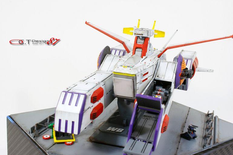 Custom build 11700 white base led gundam kits