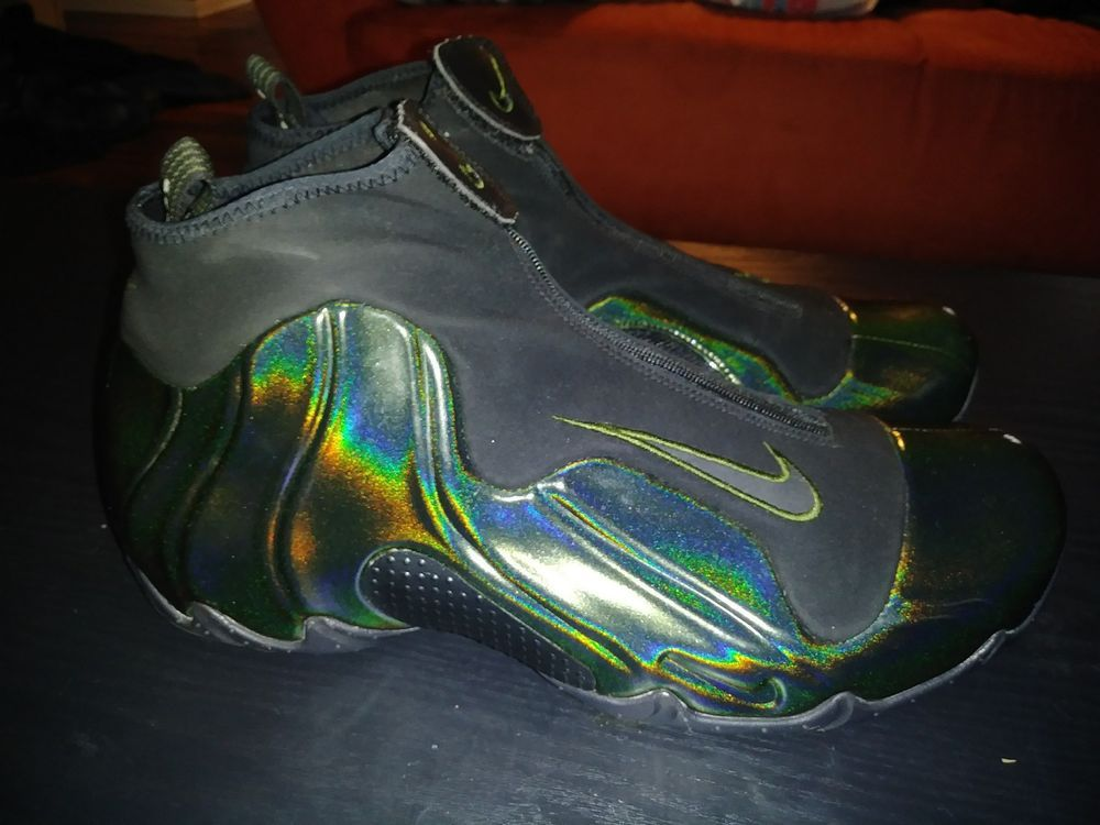 more photos 0a00a d568c Nike Air Flightposite Legion Green Size 11.5 Foamposite Jordan Adidas Yeezy   fashion  clothing  shoes  accessories  mensshoes  athleticshoes (ebay link)