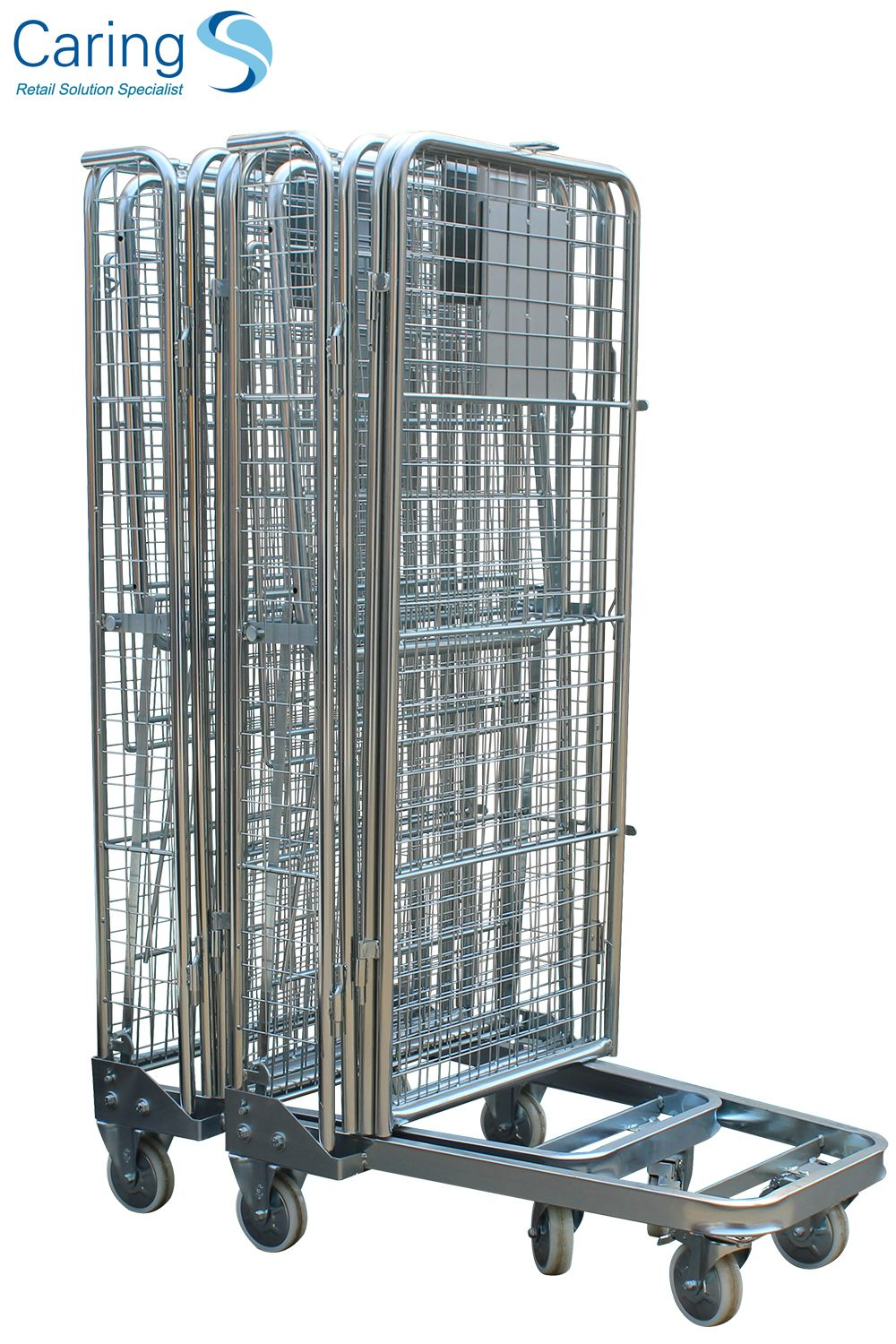 Warehouse roll cages for transportation and storage | Roll
