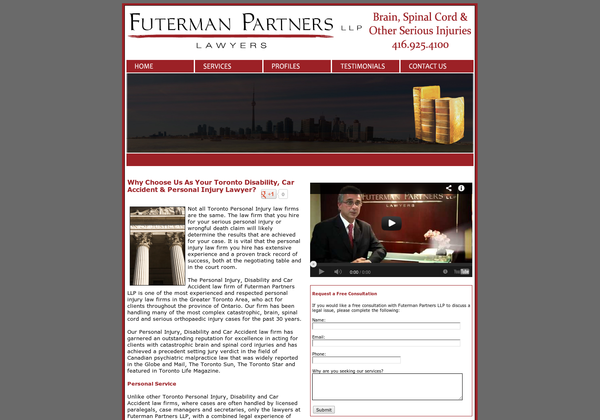 Futerman Partners LLP, 45 Saint Clair Avenue West 702