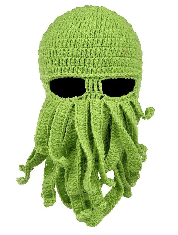 Retro Vintage Octopus Men Women Knit Hats Stretchy /& Soft Skull Cap Beanie