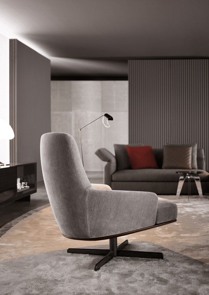 Poltrone Chaise Longue Design.Coley Soft Di Minotti Poltrone Chaise Longue
