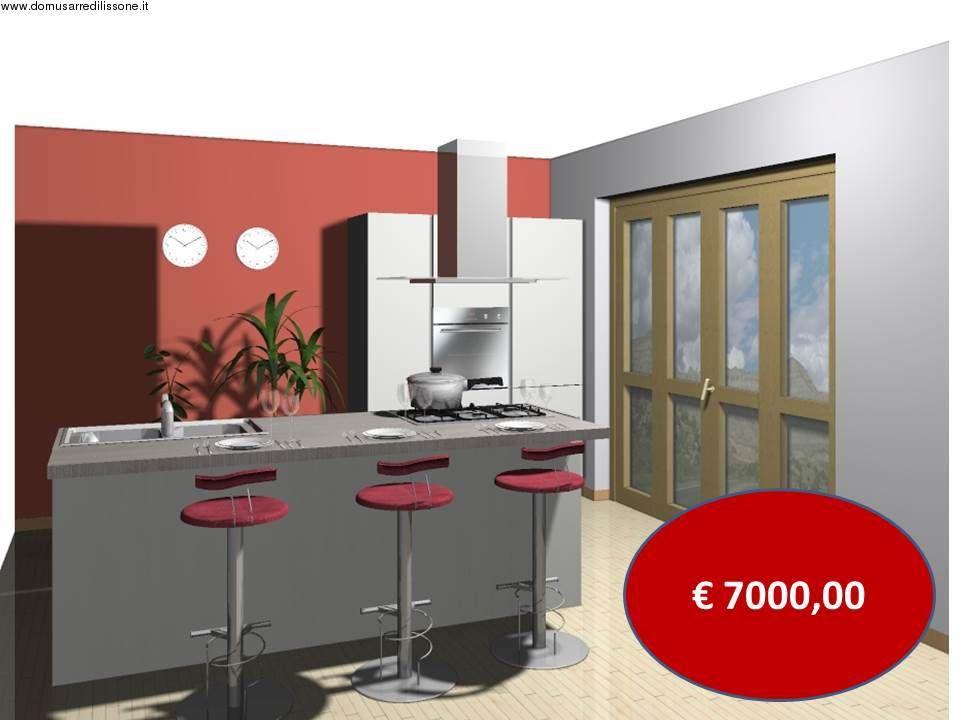 Tavoli Da Cucina Veneta Cucine.Cucina Oyster Con Isola Veneta Cucine Solo 7000 Euro Cucine Domus
