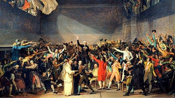 Tennis Court Oath French Revolution Classical Art Memes French Revolution Facts