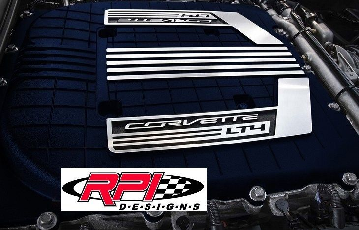 C7 Corvette Z06 Painted Supercharger Engine Cover C7 Stingray and