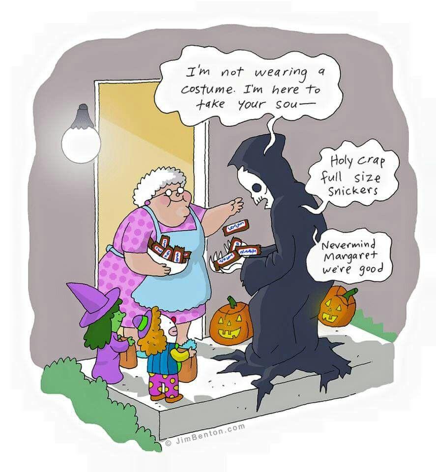 Haha!  #death #morbid #halloween #dark #funny #humor