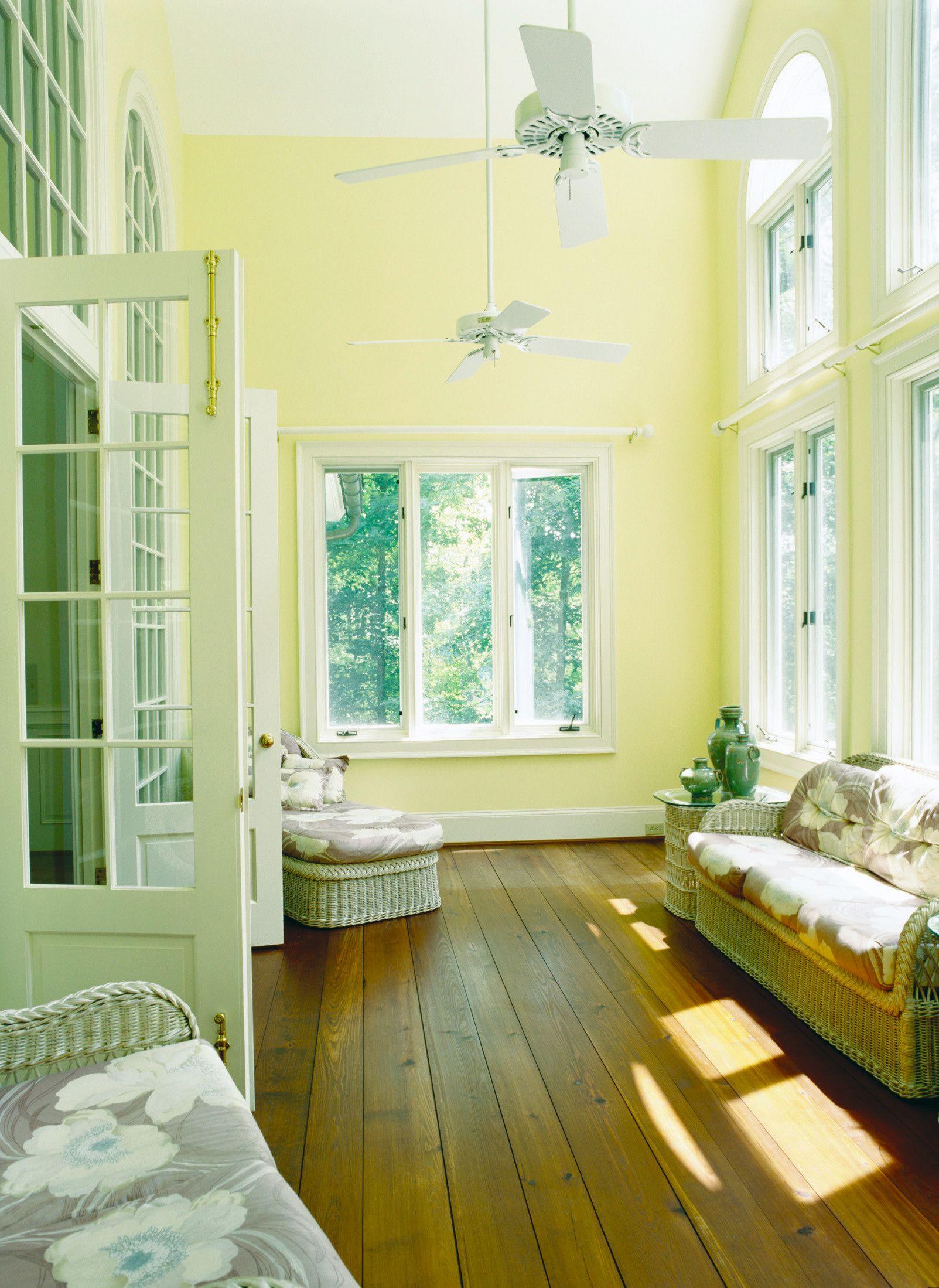 Yellow Sunroom Sunroom Three Season Room Home Decor Home