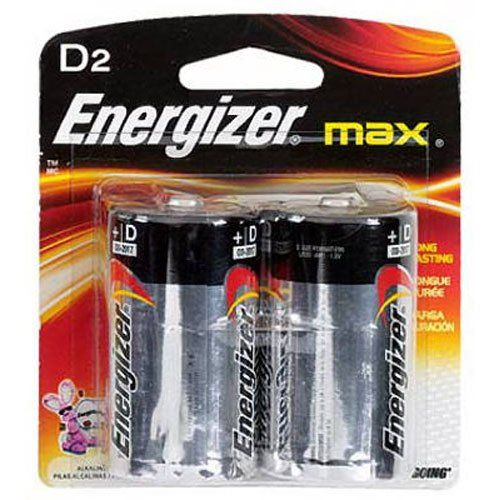 Evee95bp2 Energizer D Alkaline General Purpose Battery Charger Accessories Energizer House Supplies