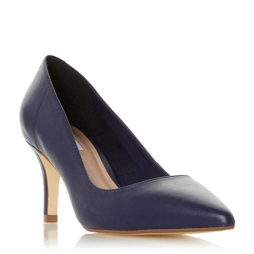 ANDRIE - Pointed Kitten Heel Court Shoe