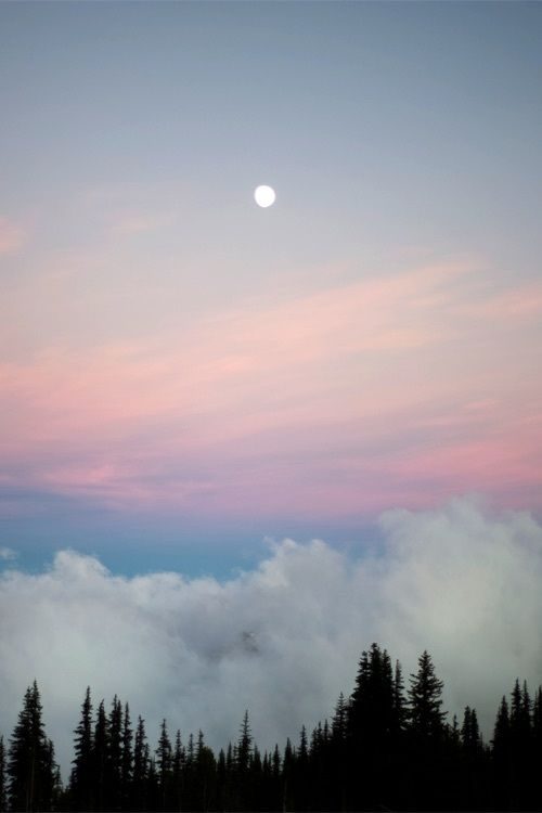 aesthetic, blue, calming, clouds, ombre   _BACKGROUND_ ...