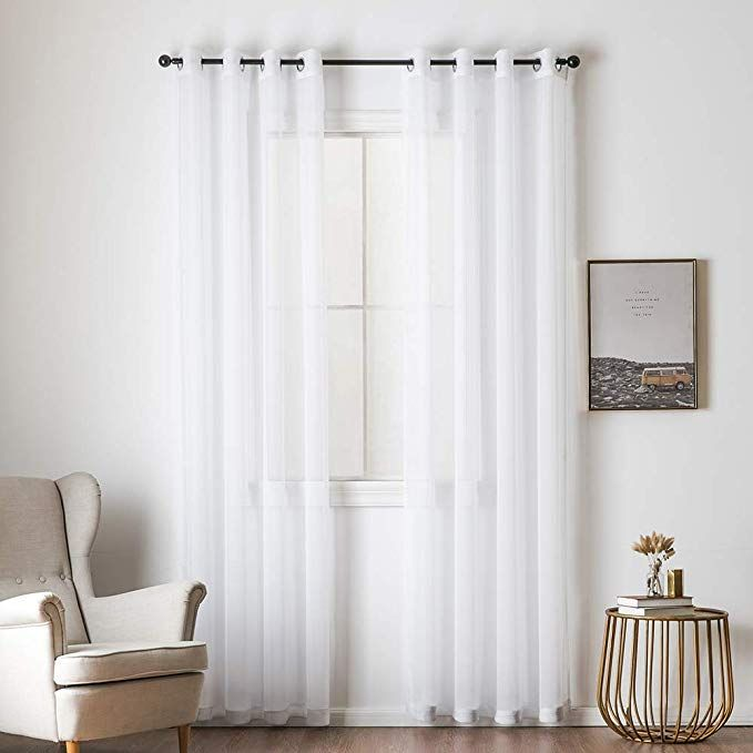 Curtains, Drapes & Valances New Fashion Miulee 100% Blackout Curtains Thermal Insulated Solid Grommet For Bedroom Living Home & Garden