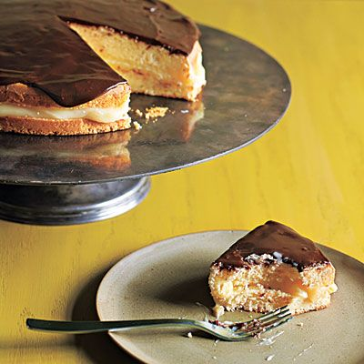 Boston Cream Pie < The New Way to Cook Light - Cooking Light