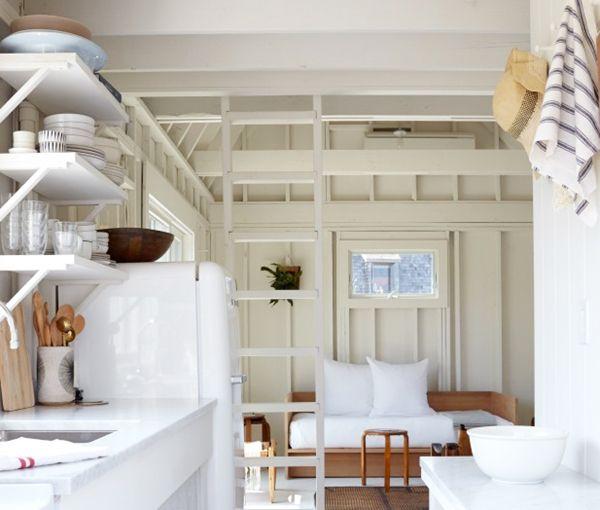 Home Tour :: Minimal + Whitewashed Beach House