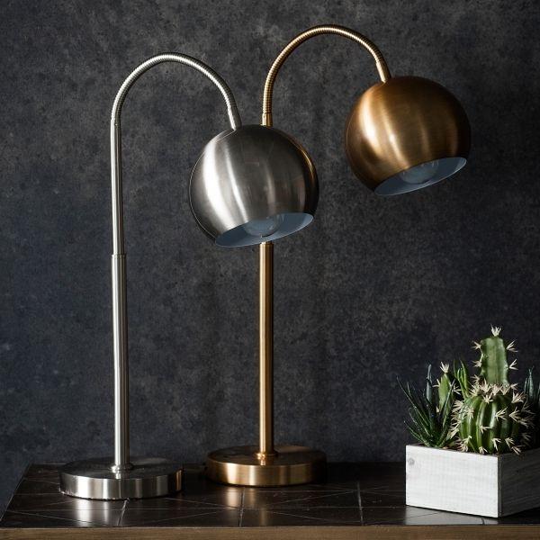 Dante Kontemporare Verstellbare Schreibtischlampe Gold Desk Lamp Adjustable Desk Lamps Chrome Table Lamp