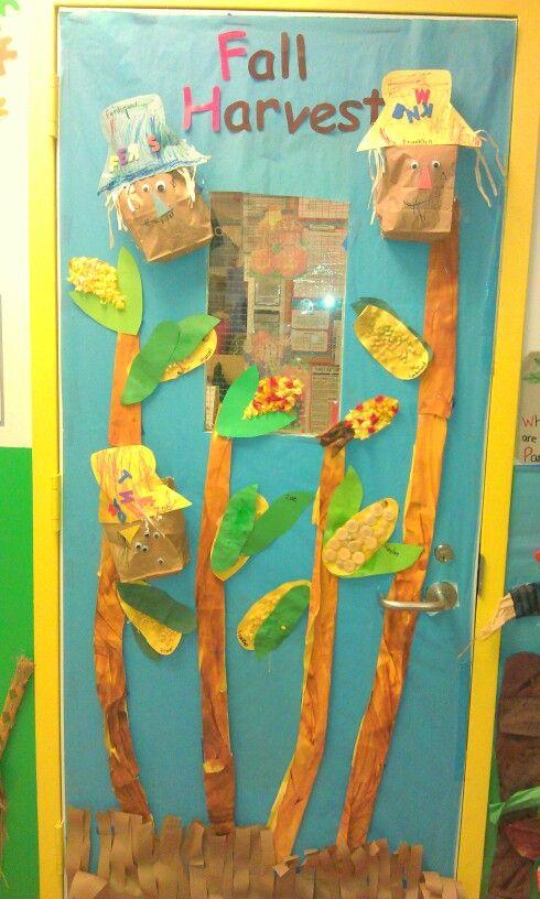 Fall Harvest Classroom Door My Work Classroom Door