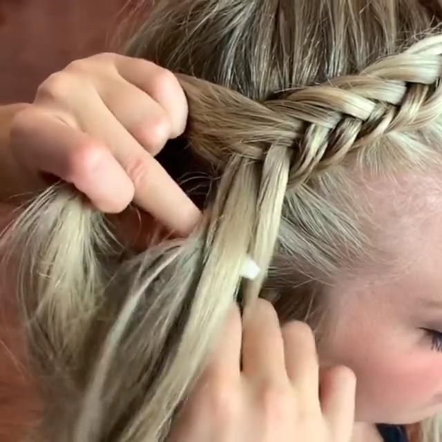 Prettiest Braided Hair Style Tutorial -   25 hair Videos braids ideas