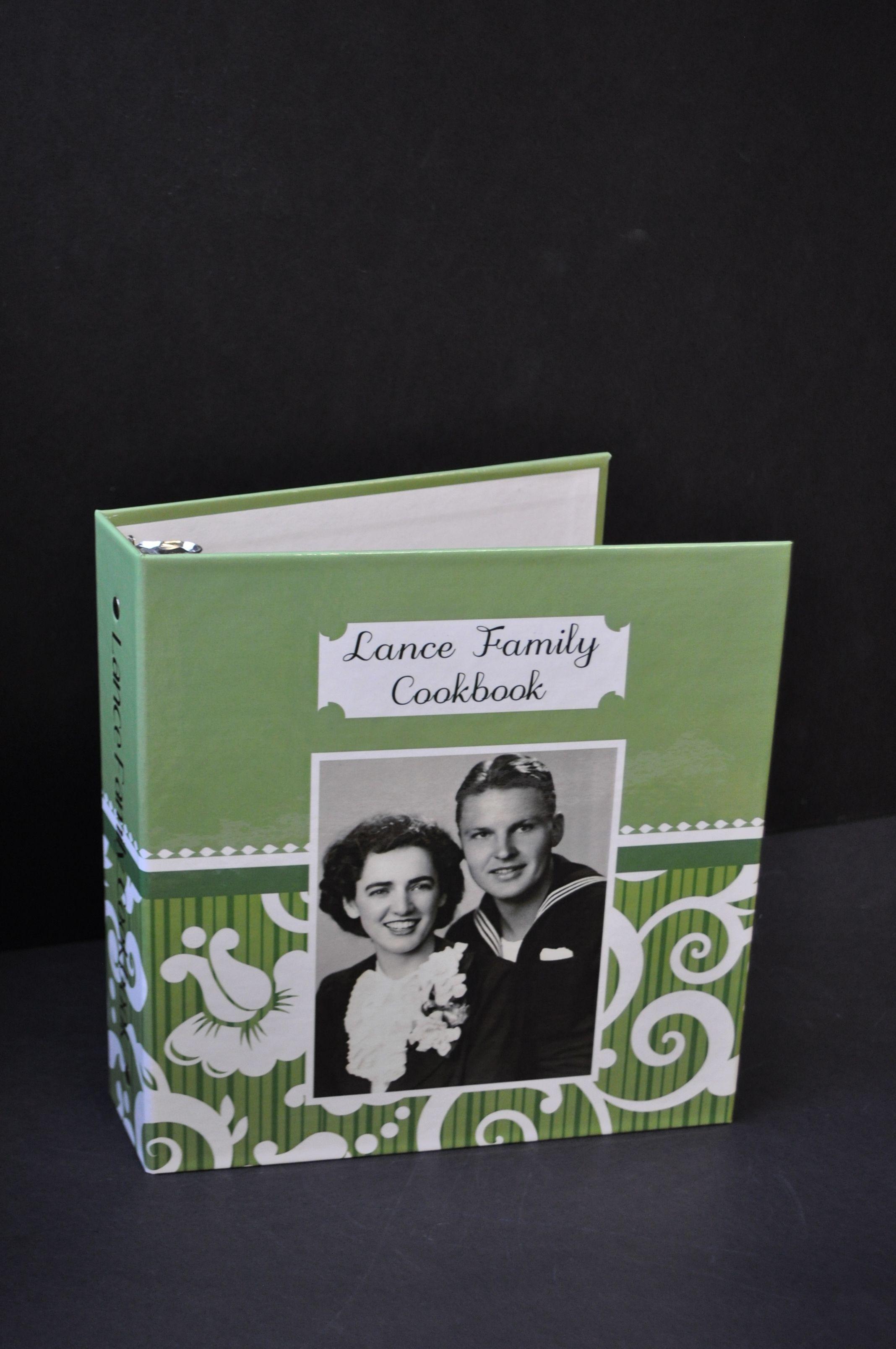 design your own custom recipe binder on thepaperworker com