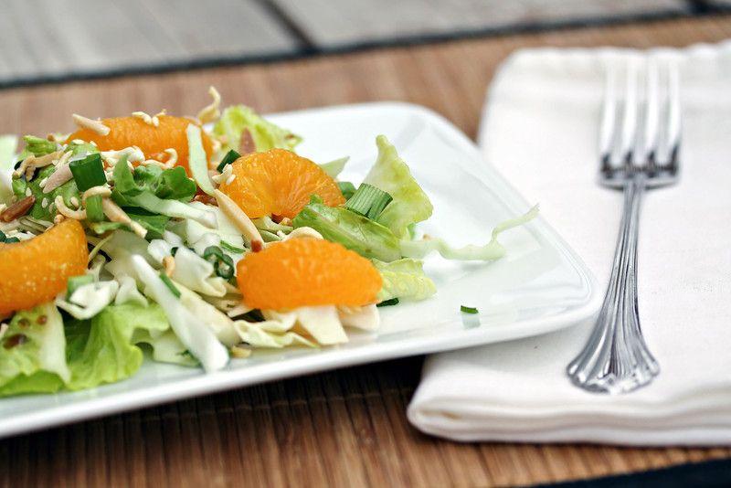 Asian Cucumber Red Onion Salad With Garlic Vinegar