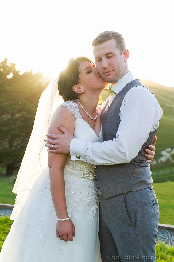 Ohariu Farm wedding moment Ohariu Farm is a wedding venue just West of Wellington City in New Zealand. Photo by Von photography