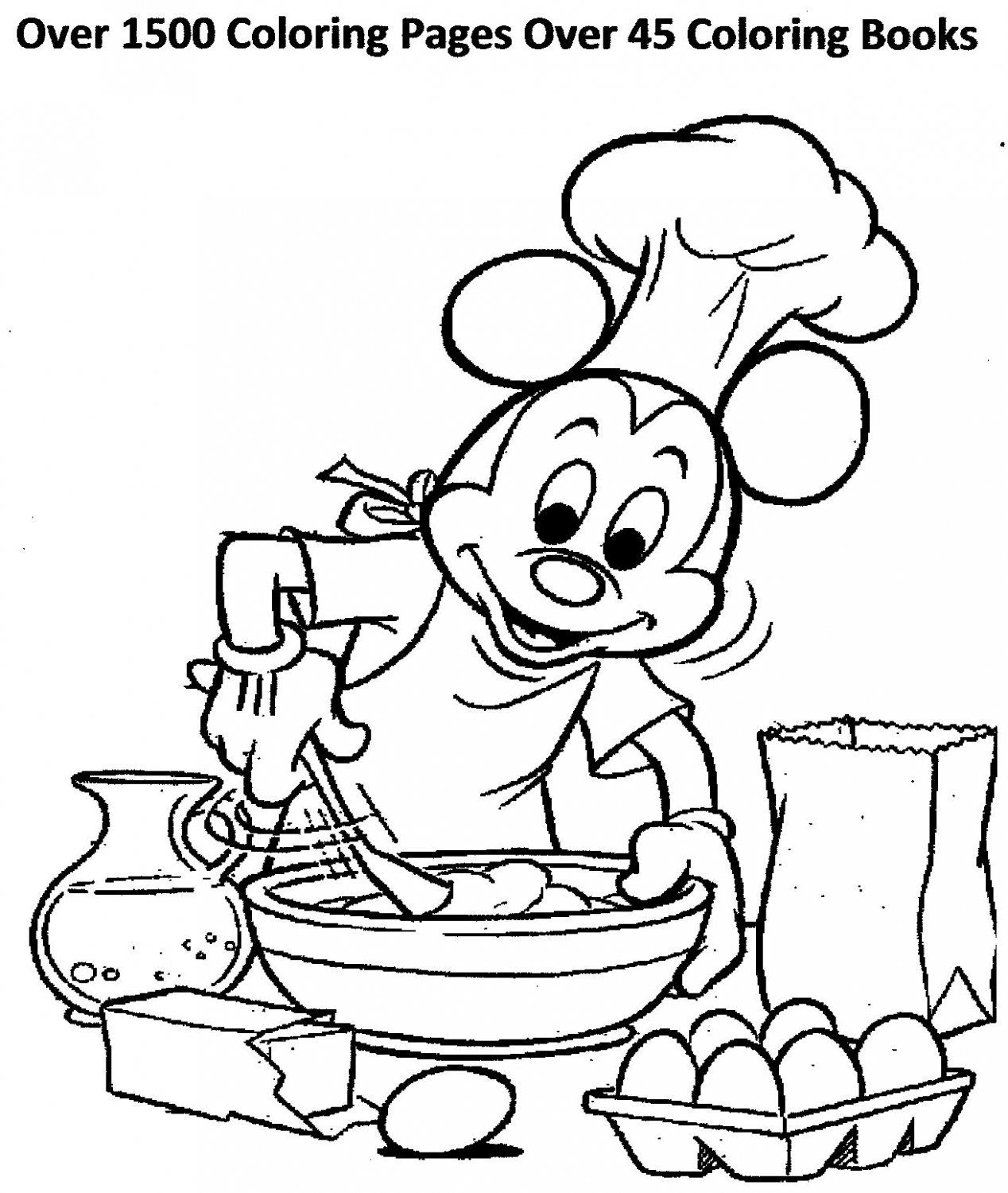 OVER 1500 COLORING PAGES OVER 45 COLORING BOOKS is part of Mickey mouse coloring pages - Over 900 Disney Coloring pages     Over 45 Coloring books, Many can be Personalized     All coloring Books and Pages are Printable     There are Color