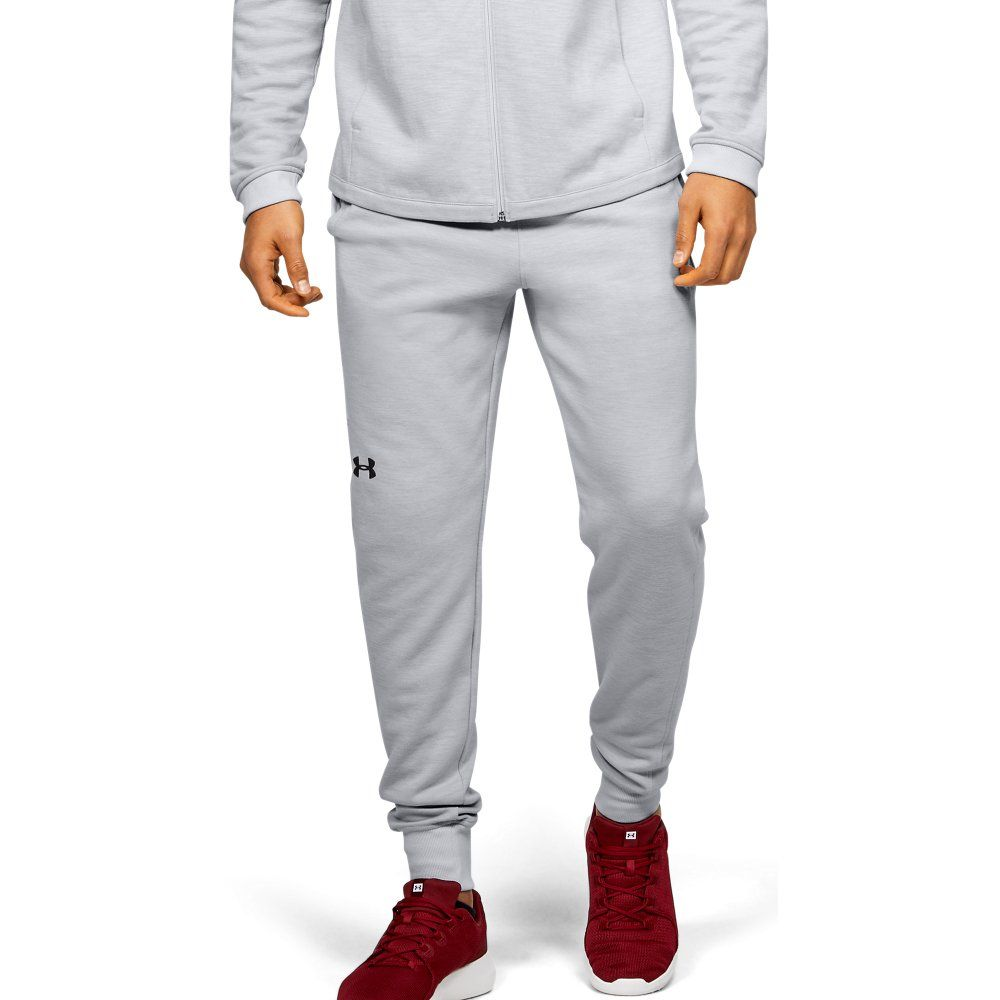 Under Armour Mens Double Knit Joggers Gray Md In 2020 Under Armour Armour Joggers