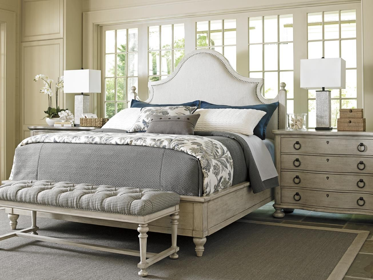 lexington oyster bay queen bedroom group baer s furniture