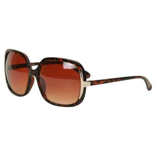 add63be522d Women s Classic Oversize Plastic Frame Fashion Sunglasses - H7890 - Tortoise  Urban Boundaries Eyewear.  12.95