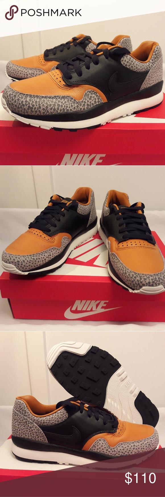 44bf2641e80 Nike Air Safari QS OG Jungle Black Monarch Shoes AO3295-001 Size  Mens Size