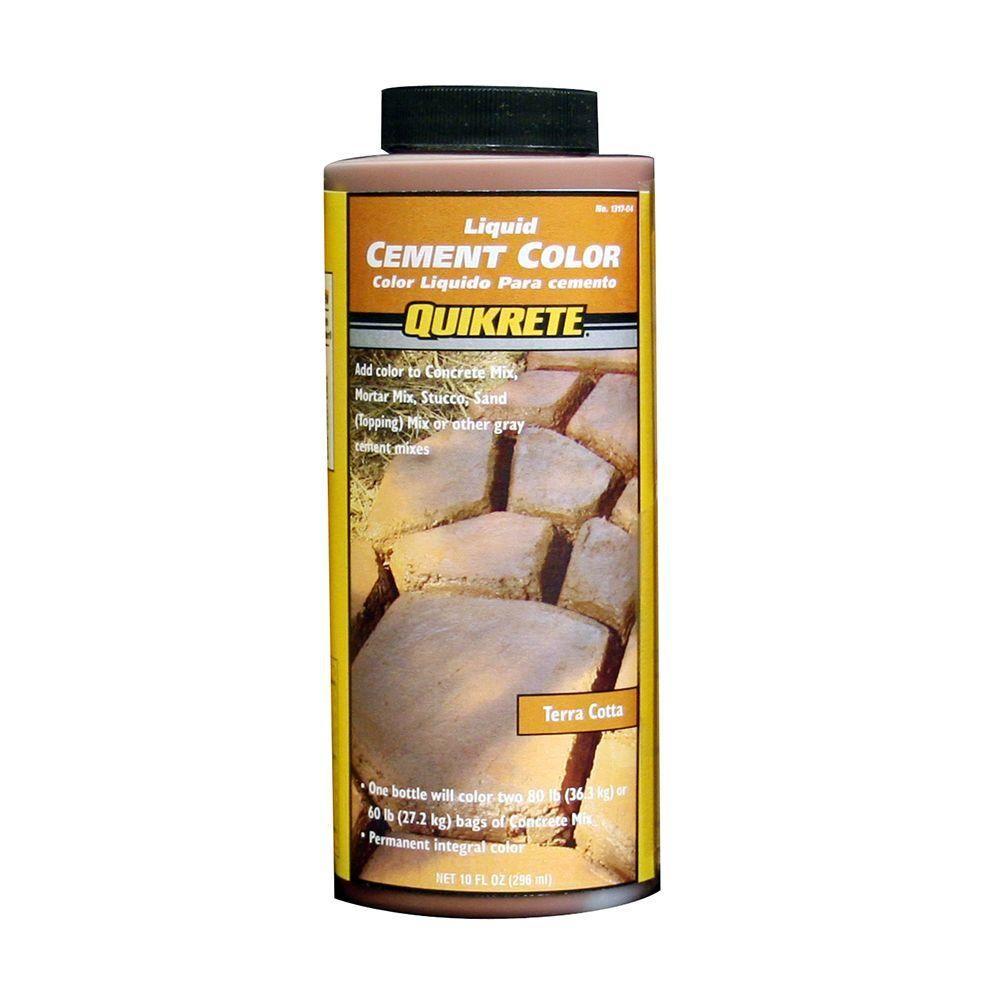 Quikrete 10 Oz Liquid Cement Color Terra Cotta 131704 The Home