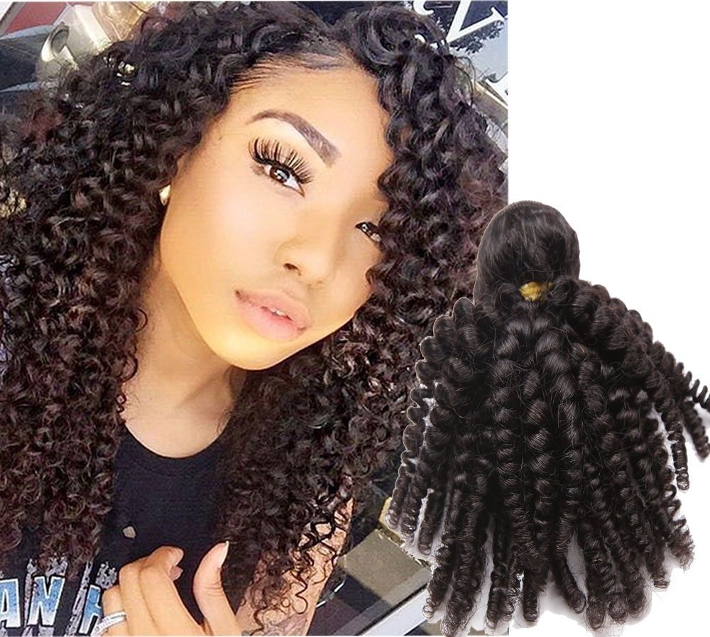 4bundles 10 16 100 brazilian real human hair extension black 4bundles 10 16 100 brazilian real human hair extension black kinky curly weft pmusecretfo Image collections