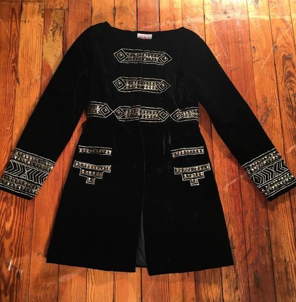 Women's Roja Black Cavalry Jacket