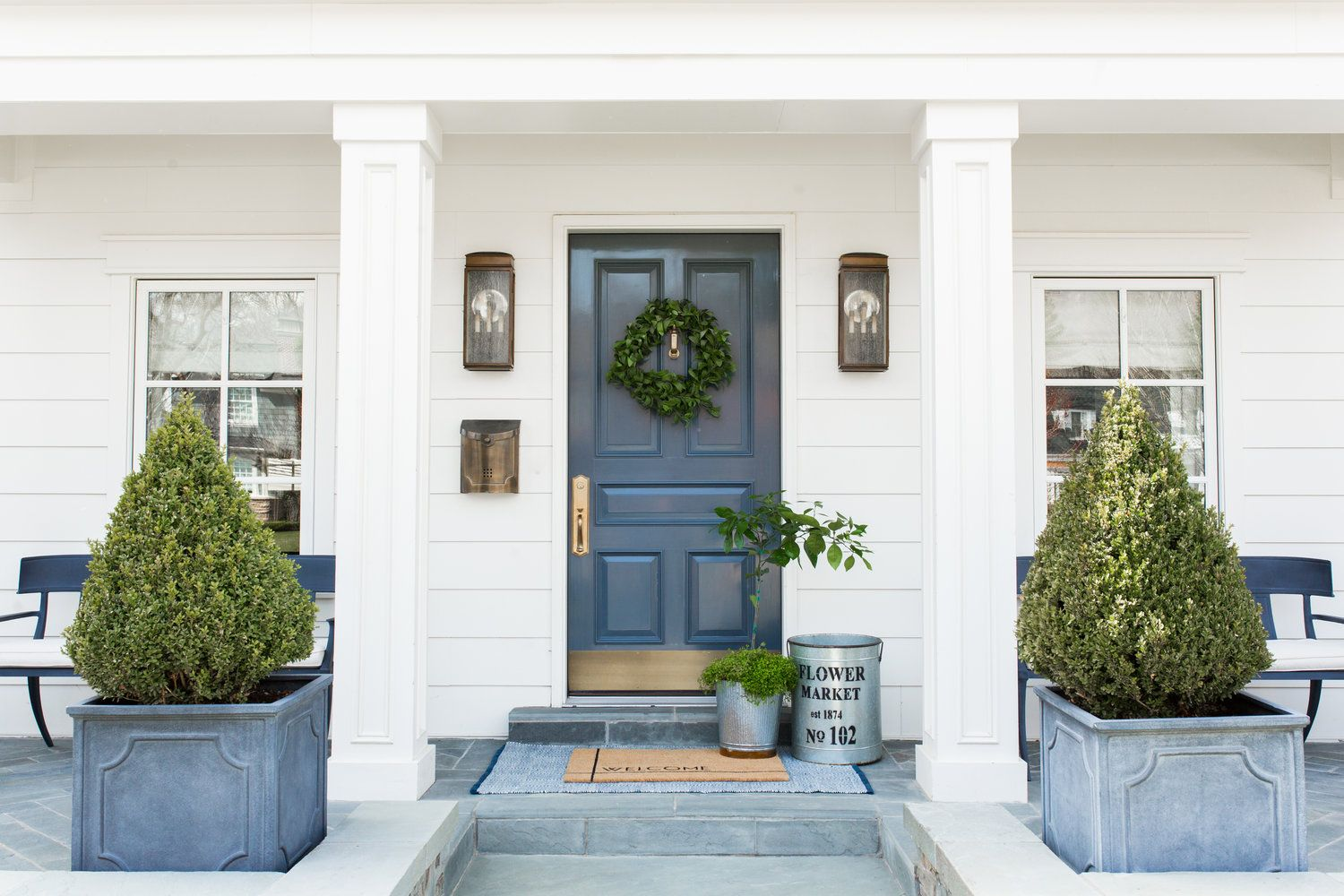 3 ways to style our new doormats modern farmhouse