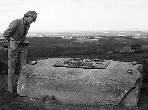 A Rare Picture Of Christopher Milne As An Adult Here Overlooking
